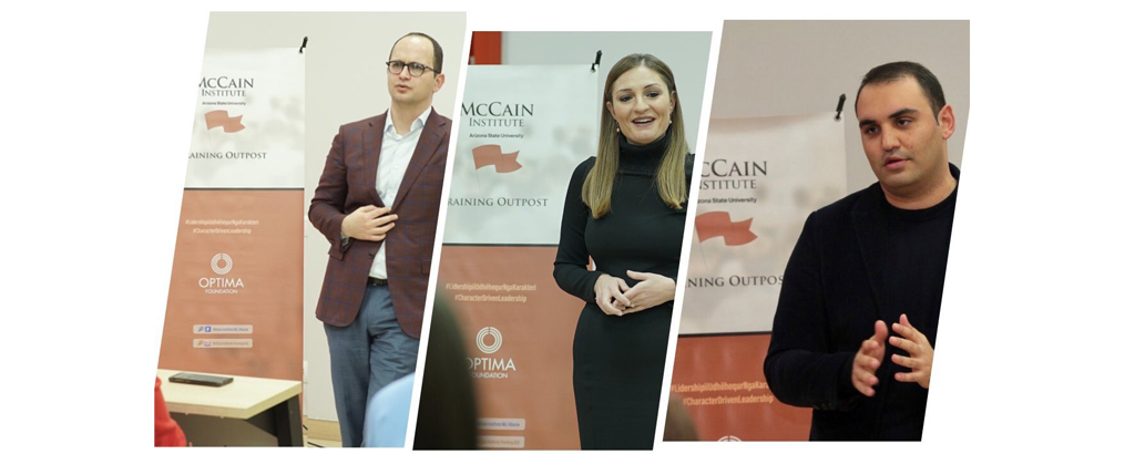 Co-organized event of Optima Foundation and McCain Institute